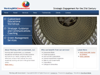 Working With Government - Strategic Engagement for the 21st Century