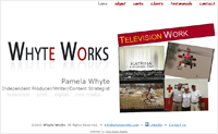 Pamela Whyte - Independent Producer/Writer/Content Strategist